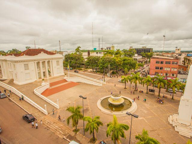 Rio Branco- AC, Brasil- Palácio Rio Branco