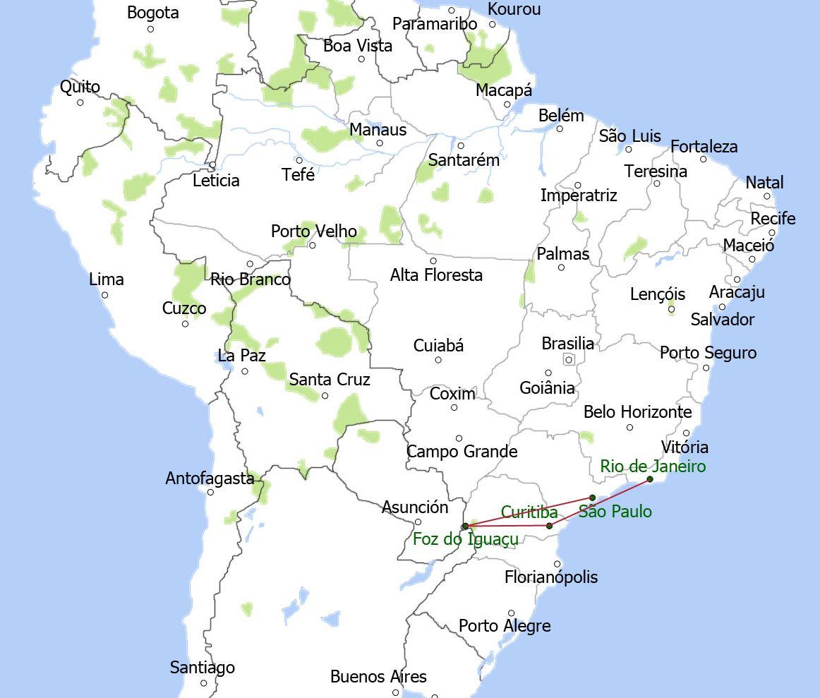 map-zuid-oost-brazilie-groot